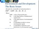 environment and development the basic issues2