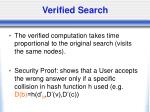 verified search1