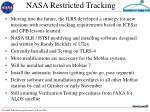 nasa restricted tracking1