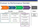 evaluer la performance sociale