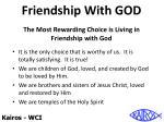 friendship with god6