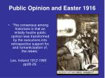 public opinion and easter 1916