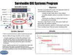 survivable gig systems program
