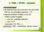 7 tao vtao volume1