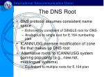 the dns root