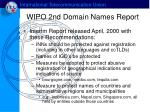 wipo 2nd domain names report