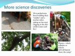 more science discoveries