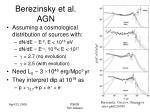 berezinsky et al agn