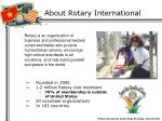 about rotary international