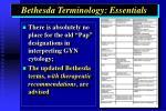bethesda terminology essentials