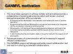 ganmvl motivation