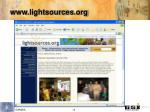 www lightsources org