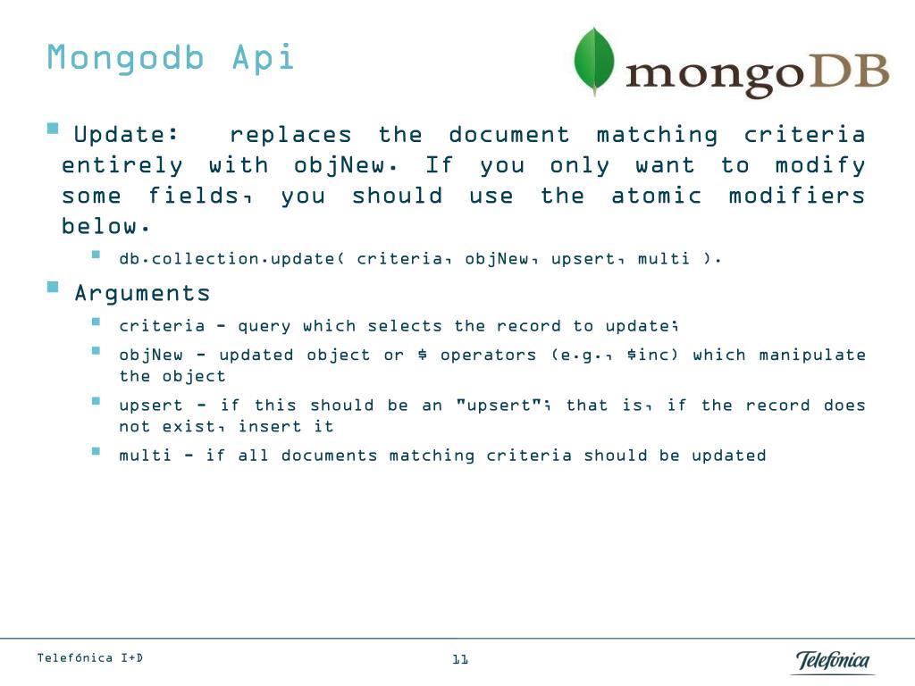 PPT - MongoDB PowerPoint Presentation - ID:5630416