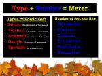 type number meter