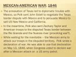 mexican american war 1846
