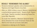 revolt remember the alamo