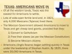 texas americans move in