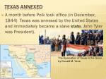 texas annexed