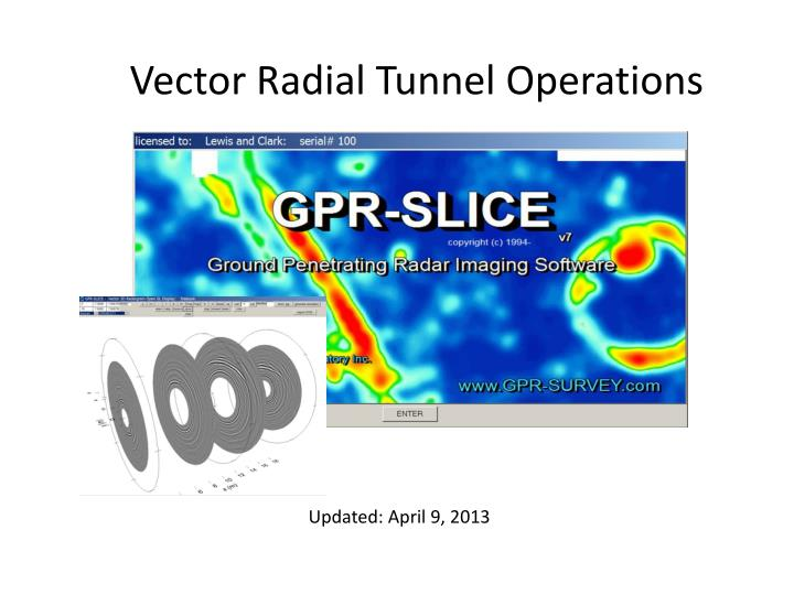vector radial tunnel operations n.