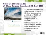 a new era of sustainability un global compact accenture ceo study 2010