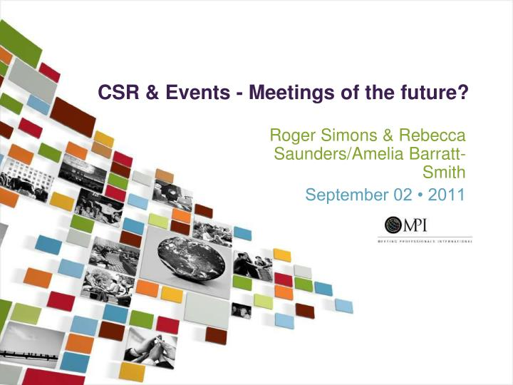 csr events meetings of the future n.