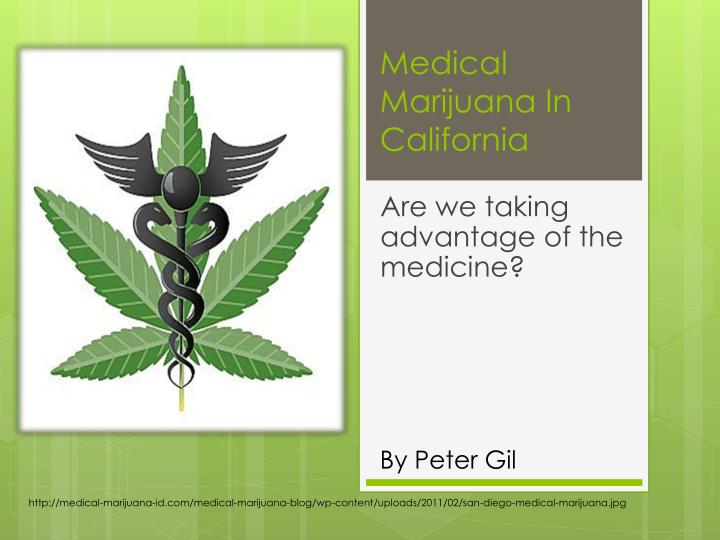 medical marijuana in california n.