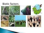 biotic factors1