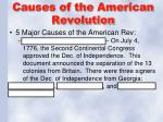 causes of the american revolution2