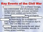 key events of the civil war3