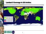 landsat 5 coverage in us archive
