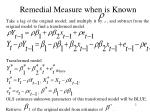 remedial measure when is known