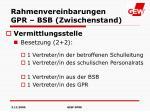 rahmenvereinbarungen gpr bsb zwischenstand1