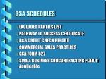 gsa schedules2