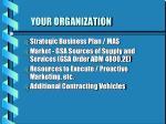 your organization
