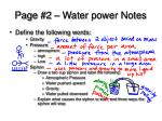 page 2 water power notes