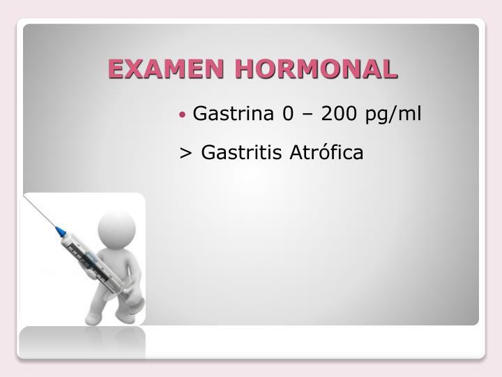 EXAMEN HORMONAL