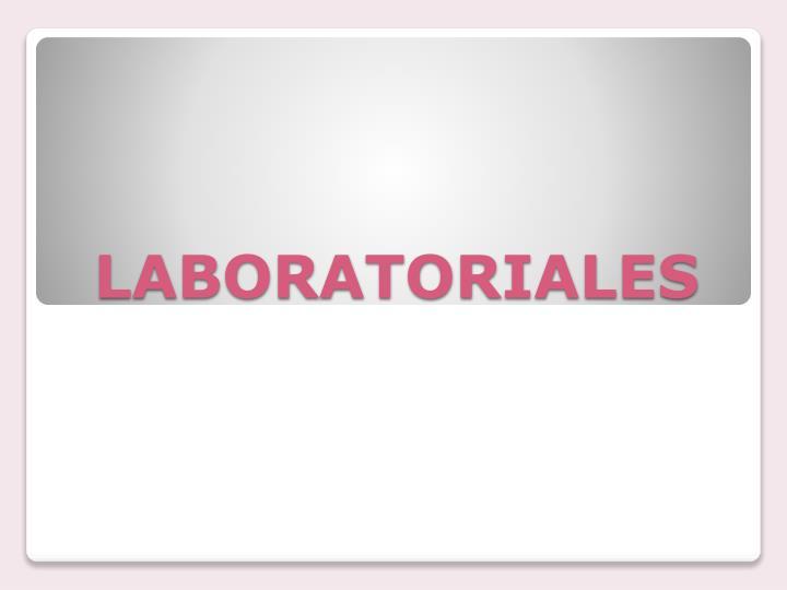 LABORATORIALES