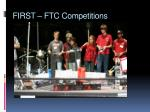 first ftc competitions2