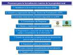 procesos para la formalizaci n masiva de la propiedad rural