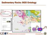 sedimentary rocks bgs ontology