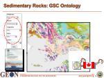 sedimentary rocks gsc ontology