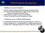 geo 5 capacity development