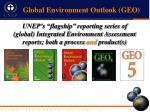 global environment outlook geo