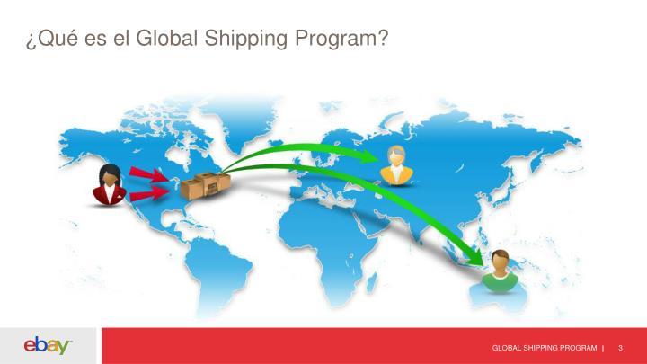 Qu es el global shipping program