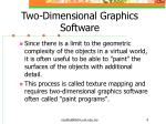 two dimensional graphics software