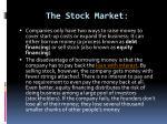 the stock market2