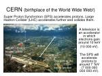 cern birthplace of the world wide web