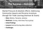 the surveys outcomes4