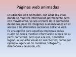 p ginas web animadas
