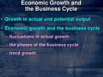 economic growth and the business cycle2